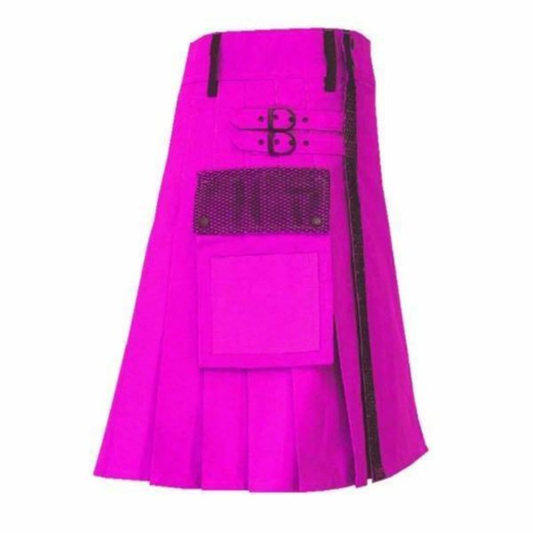 pink-net-pocket-utility-kilt-side