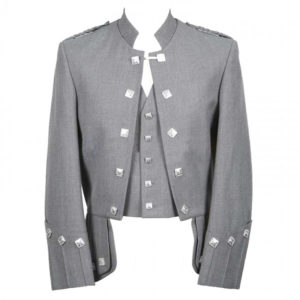 Sherrifmuir Grey Wool Pride Jacket