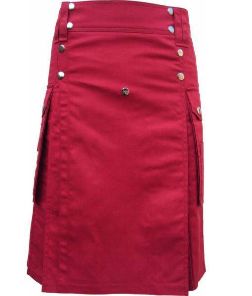 scottish-highland-red-utility-pocket-drilled-kilt-510×600-1
