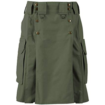 Tactical Duty Kilt – Moss