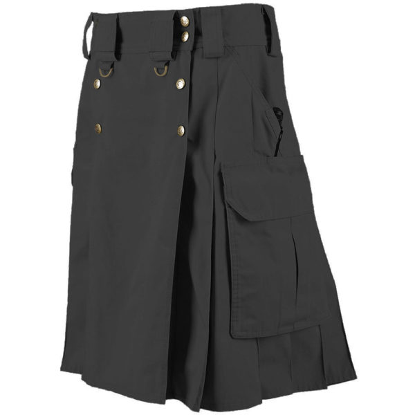 dark gray Tactical Utility Kilt