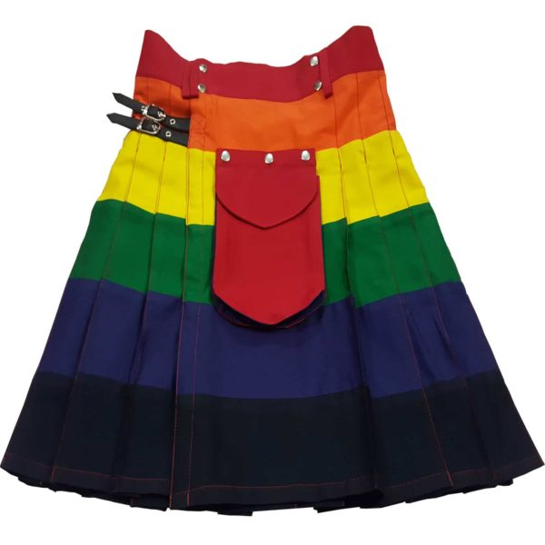 LGB  Pride Rainbow kilt  Modern kilts for men for sale  Utility kilt  Fashion