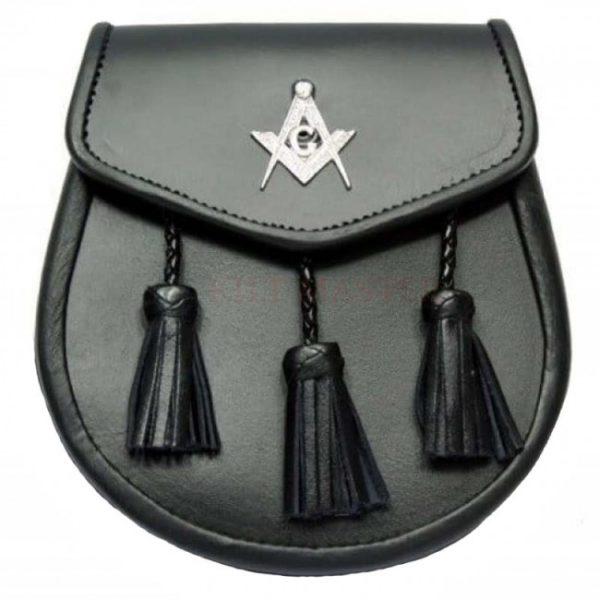 Masonic Leather Sporran