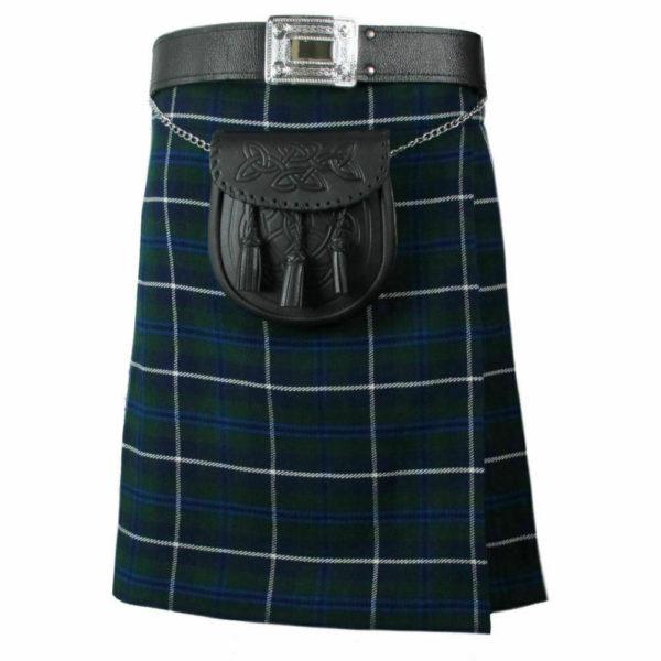 Mens Scottish Blue Douglas Tartan Kilt