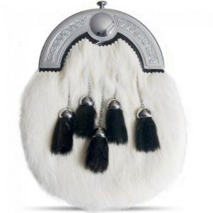 Rabbit fur Sporran