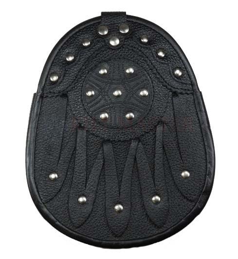 Studded Leather Sporran