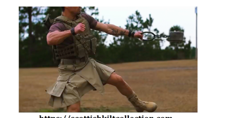 What is a tactical kilt? is the kilt Irish