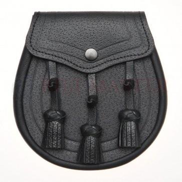 Embossed-leather-sporran