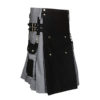Black & Gray Scottish Two Tone Utility Kilt (2)