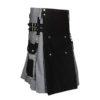 Black & Gray Scottish Two Tone Utility Kilt