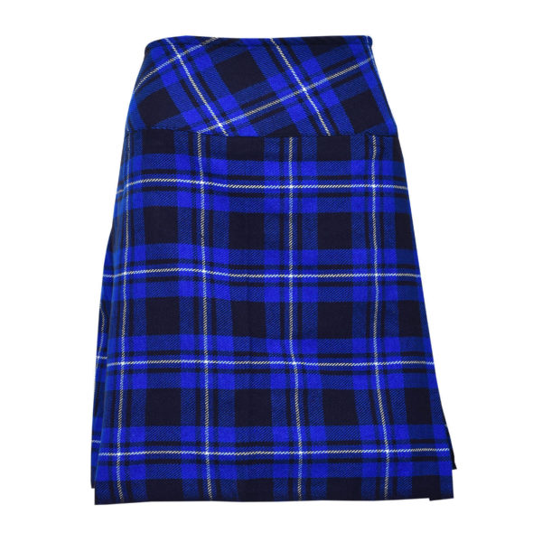 Ladies Knee Length American Patriot Modern Kilt1