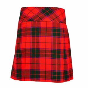 Ladies Knee Length Scottish Rose Modern Kilt