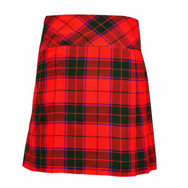 Ladies Knee Length Scottish Rose Modern Kilt1