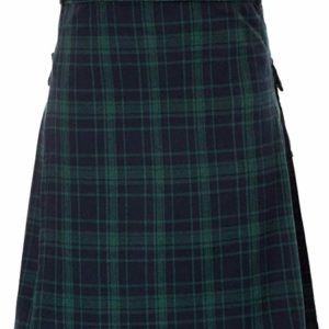 Mens traditional Highland Scottish Kilt tartan utility kilt