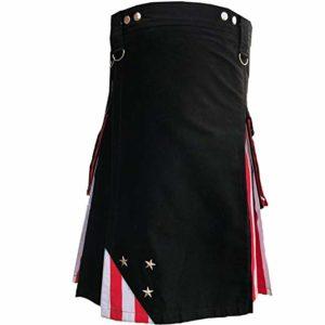 US American Flag Hybrid Utility Kilt Modern Design