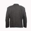 Dark Green Tweed kilt jacket With 5 Button Vest1