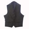 Dark Green Tweed kilt jacket With 5 Button Vest3