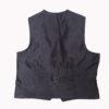 Dark Green Tweed kilt jacket With 5 Button Vest4