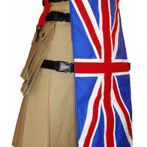 UK Flag Utility Kilt