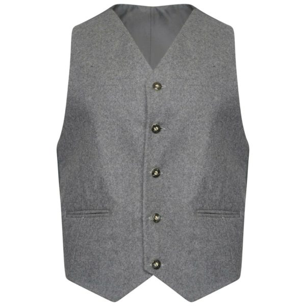 100% Wool Scottish Crail Highland Argyle Kilt Jacket and Waistcoat4