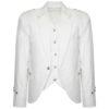 White Scottish Argyle kilt Jacket & Waistcoat2