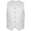 Boys & Mens White Pipe Band Highland Prince Charlie Kilt Jacket & Waistcoat2