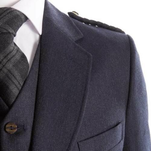 Crail Kilt Jacket and Waistcoat in Midnight Blue4