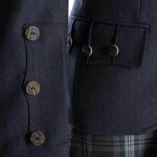 Crail Kilt Jacket and Waistcoat in Midnight Blue6