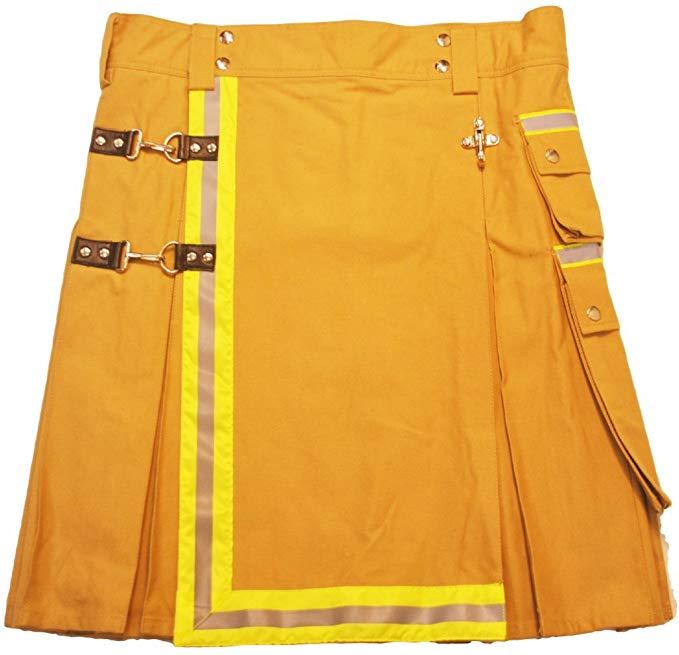 American Highlander Mens Firefighter Utility Tactical Kilt