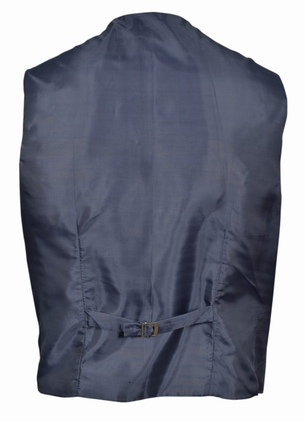 Lovat Green Button Vest.