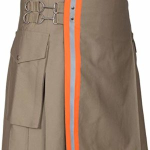 Men's Firefighter High Visibility Utility Tactical Kilt