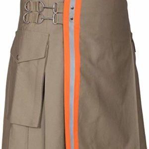 Men's Firefighter High VisibilityUtility Tactical Kilt