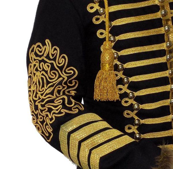 Napoleonic-Hussars-Uniform-Military-Style-Tunic-Pelisse (4)