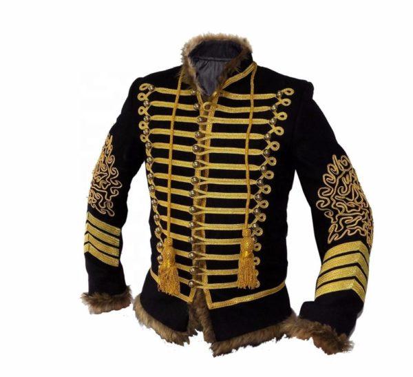 Napoleonic-Hussars-Uniform-Military-Style-Tunic-Pelisse