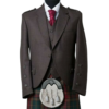 Men_Brown_Wool_Scottish_Kilt_Jacket_with_Waistcopreview