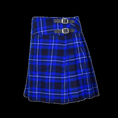 Ramsay Blue Short Tartan Kilt