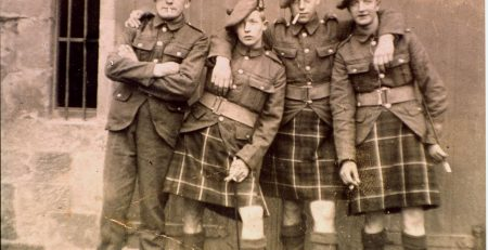 Highlanders in Scotland