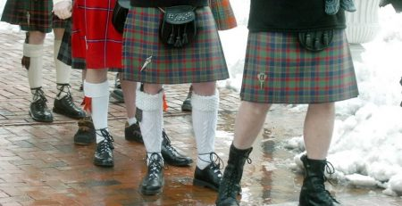 Why do guys wear kilts ?