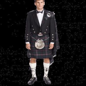 Fly Plaid Prince Charlie Jacket kilt Outfits