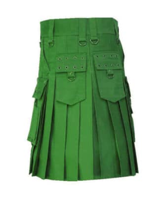 New Stylish Men Green Fashion Kilt