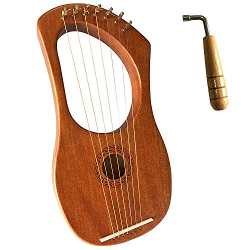 Luvay Lyre Harp – Orchestral Strings Instrument, with Tuning Wrench