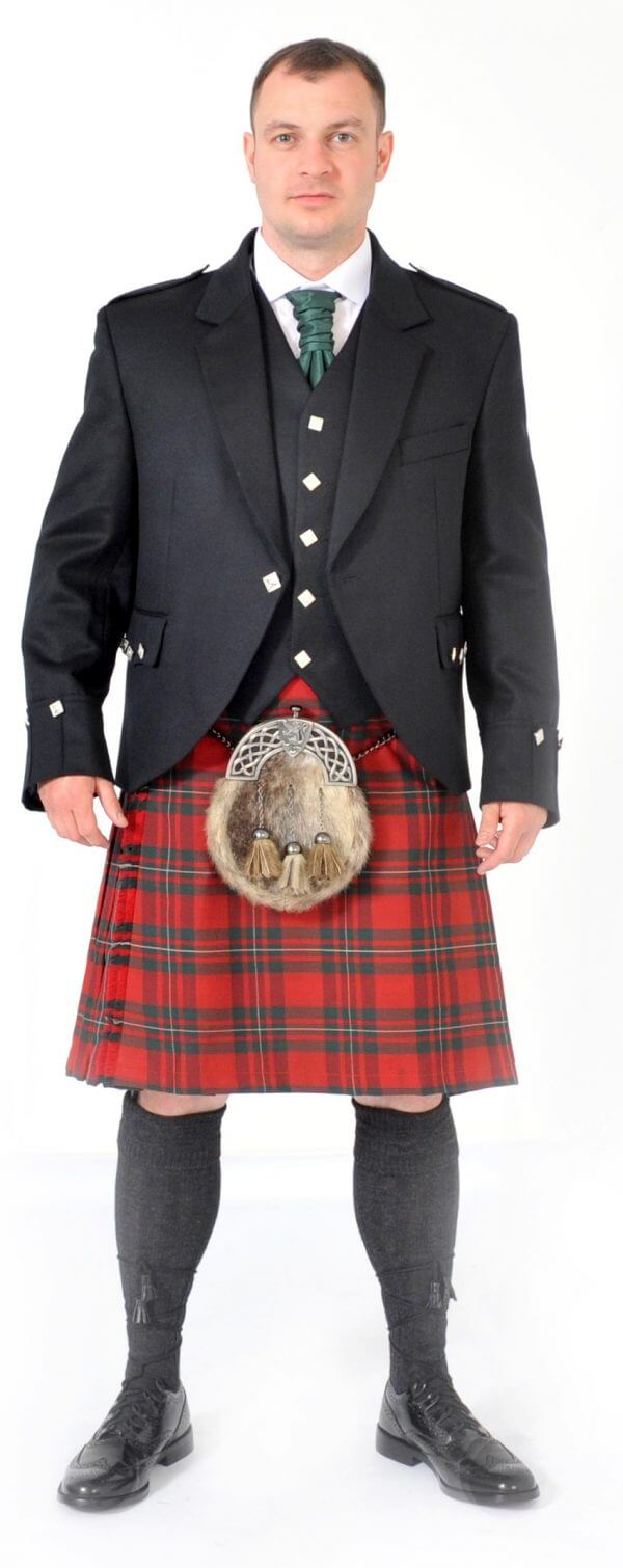 Scottish 8 Yard MacGregor Red Kilt outfits