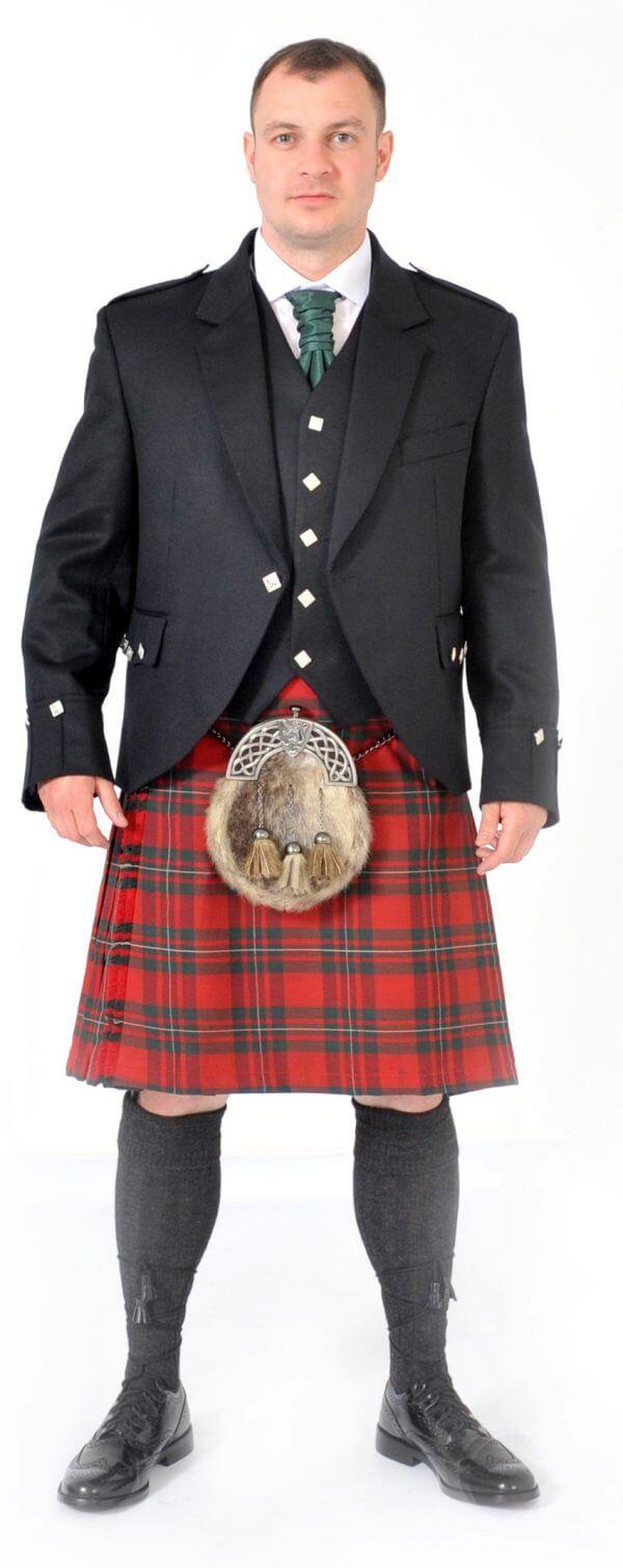 Scottish 8 Yard MacGregor Red Kilt outfits