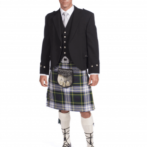 Scottish 8 Yard Dress Gordon Kilt & Jacket outfits