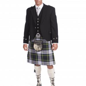 Scottish 8 Yard Dress Gordon Kilt & Jacket outfits