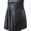 2020 Buy Brand New Kilt Black Women Leather utility Kilt