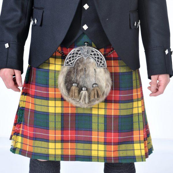 Buchanan Tartan Kilt Outfit