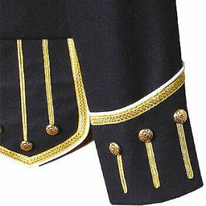 Dark Blue Pipe Band Doublet