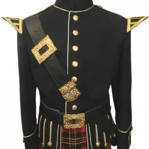 Doublet (Black w/ Gold Trim)