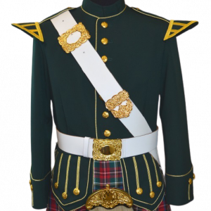 Doublet (Green w/ Gold Trim)